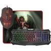 Defender Death Knight MKP-007 - Мыши и КлавиатурыМыши и Клавиатуры<br>Игровой набор: мышь + клавиатура + ковер. Встроенный редактор макросов позволяет записывать и редактировать последовательности до 52 команд с возможностью зацикливания.<br>
