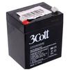 3Cott 12V 5.0Ah (0298826) - Батарея для ибпБатареи для ИБП<br>3Cott 12V5 лучше всего подходит в качестве источника беспроводного питания. Данная модель аккумулятора отличается пониженным током саморазряда, качеством сборки, безопасностью использования, высокой производительностью.<br>