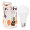 Светодиодная лампа ЭРА LED A60-17W-827-E27 - ЛампочкаЛампочки<br>ЭРА LED A60-17W-827-E27 - светодиодная лампа, диаметр: 60 мм, мощность: 17 Вт, индекс цветопередачи: Ra&80, напряжение: 170-265V, светоотдача: 80 Lm/W, цветовая температура: 2700K, цоколь: E27, световой поток: 1360 Lm. Материал: пластик, металл. Совместимость с выключателем с подсветкой.<br>