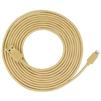 Кабель USB-Lightning 5м (Zikko Premium SC500-500R) (золотистый) - Usb, hdmi кабель, переходникUSB-, HDMI-кабели, переходники<br>Кабель предназначен для зарядки и синхронизации устройств, разъемы USB-Lightning. Изготовлен из высококачественных материалов, длина 5 м. Сила тока: 2.4 А, передача данных: 480 Мбит/с, сертификация MFI, плетенная оплетка.<br>