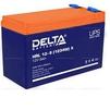 Delta HRL 12-9 X (12V / 9Ah) - Батарея для ибпБатареи для ИБП<br>Герметизированный VRLA cвинцово-кислотный аккумулятор напряжением 12В и емкостью 9Ач изготовлен по технологии AGM (с микропористым заполнителем, пропитанным электролитом).<br>