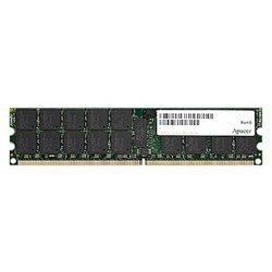 apacer ddr2 667 registered ecc dimm 2gb cl5