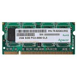 Apacer DDR2 800 SO-DIMM 2Gb