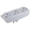 Тройник 3 розетки (ЭРА SP-3-W) (белый) - Сетевой фильтрСетевые фильтры<br>Тройник на 3 розетки без заземления, материал корпуса: поликарбонат.<br>