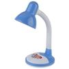 Настольный светильник ЭРА N-106-E27-40W-BU (синий) - Настольная лампа, ночник, светильник, люстраНастольные лампы, светильники, ночники, люстры<br>ЭРА N-106-E27-40W-BU - настольный светильник, максимальная мощность: 40W, материал: пластик и металл, тип крепления/установки: основание, тип цоколя: Е27.<br>