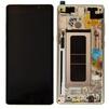 Дисплей для Samsung Galaxy Note 8 SM-N950 с тачскрином в рамке Qualitative Org (lcd) (золотистый)  - Дисплей, экран для мобильного телефонаДисплеи и экраны для мобильных телефонов<br>Полный заводской комплект замены дисплея для Samsung Galaxy Note 8 SM-N950. Стекло, тачскрин, экран для Samsung Galaxy Note 8 SM-N950. Если вы разбили стекло - вам нужен именно этот комплект, который поставляется со всеми шлейфами, разъемами, чипами в сборе.<br>Тип запасной части: дисплей; Марка устройства: Samsung; Модели Samsung: Galaxy Note 8; Цвет: золотистый;