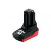 Аккумулятор для инструмента Metabo (4Ah 10.8V) (Metabo 625585000) - АккумуляторАккумуляторы для инструмента<br>Напряжение аккумуляторного блока - 10.8 В, емкость аккумуляторного блока - 4 Ач. Без эффекта памяти.<br>