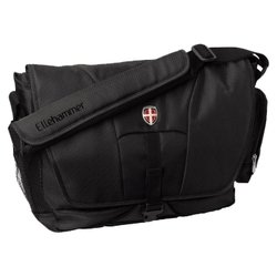 hama ellehammer messenger bergen laptop bag 15.4 (черный)