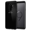 Чехол-накладка для Samsung Galaxy S9 Plus (Spigen Ultra Hybrid 593CS22924) (матово-черный) - Чехол для телефонаЧехлы для мобильных телефонов<br>Защитит смартфон от грязи, пыли, брызг и других внешних воздействий.<br>