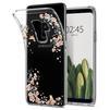 Чехол-накладка для Samsung Galaxy S9 Plus (Spigen Liquid Crystal Blossom 593CS22915) (прозрачный) - Чехол для телефонаЧехлы для мобильных телефонов<br>Обеспечит защиту телефона от царапин, потертостей и других нежелательных внешних воздействий.<br>