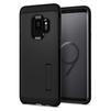 Чехол-накладка для Samsung Galaxy S9 (Spigen Tough Armor 592CS22846) (черный) - Чехол для телефонаЧехлы для мобильных телефонов<br>Защитит смартфон от грязи, пыли, брызг и других внешних воздействий.<br>
