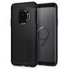 Чехол-накладка для Samsung Galaxy S9 (Spigen Slim Armor 592CS22880) (черный) - Чехол для телефонаЧехлы для мобильных телефонов<br>Защитит смартфон от грязи, пыли, брызг и других внешних воздействий.<br>