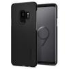 Чехол-накладка для Samsung Galaxy S9 (Spigen Thin Fit 592CS22821) (черный) - Чехол для телефонаЧехлы для мобильных телефонов<br>Защитит смартфон от грязи, пыли, брызг и других внешних воздействий.<br>