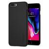 Чехол-накладка для Apple iPhone 8 Plus (Spigen Thin Fit 055CS22238) (черный) - Чехол для телефонаЧехлы для мобильных телефонов<br>Защитит смартфон от грязи, пыли, брызг и других внешних воздействий.<br>