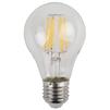Светодиодная лампа Эра F-LED A60-7W-827-E27 - ЛампочкаЛампочки<br>Эра F-LED A60-7W-827-E27 - светодиодная лампа, диаметр: 60 mm, индекс цветопередачи: Ra&80, мощность: 7W, напряжение: 170-265V, светоотдача: 99 Lm/W, цветовая температура: 2700К, цоколь: Е27, диапазон рабочих температур: - 25..+50°C, световой поток: 695 Лм, материал: стекло, пластик, металл.<br>