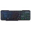 QUMO Delta USB Black - КлавиатураКлавиатуры<br>Проводная клавиатура, интерфейс USB, 104 клавиши, фоновая подсветка.<br>