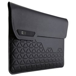 case logic macbook air welded sleeve 11 (ssma-311k) (черный)