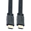Кабель HDMI AM - HDMI AM 2м (Perfeo H1302) (черный) - HDMI кабель, переходникHDMI кабели и переходники<br>Кабель HDMI AM - HDMI AM, позолоченные контакты, плоский, длина 2м.<br>