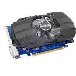 ASUS GeForce GT 1030 1177Mhz PCI-E 2.0 2048Mb 2100Mhz 64bit DVI HDMI HDCP (PH-GT1030-O2GD4) RTL