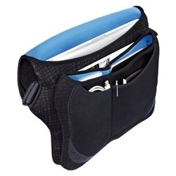 built neoprene messenger bag 15-17