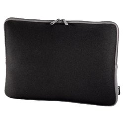 hama netbook-sleeve neoprene 11.6 (черный/серый)