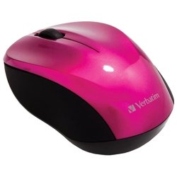 verbatim wireless mouse go nano pink usb