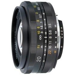 Voigtlaender 20mm f/3.5 SLII Color Skopar Nikon F