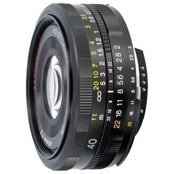 Voigtlaender 40mm f/2.0 SLII Ultron Nikon F