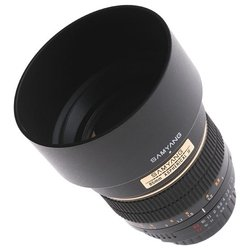 Samyang 85mm f/1.4 AS IF Four Thirds