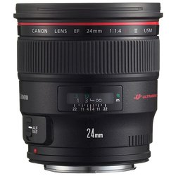 Объектив Canon EF 24 1.4L II USM (байонет Canon EF)