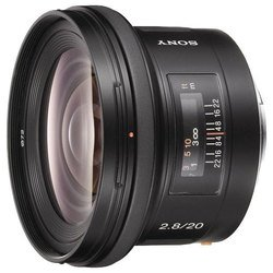 Объектив Sony 20mm f/2.8 (байонет Minolta A) (SAL-20F28)