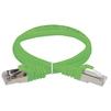Патч-корд FTP кат.5е 3м (ITK PC02-C5EF-3M) (зеленый)