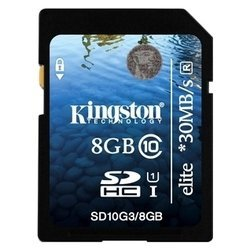 kingston sd10g3/8gb