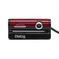 Dialog WC-30U (черный/красный)