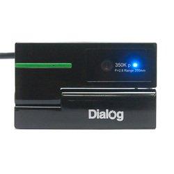 Dialog WC-50U (черный/зеленый)