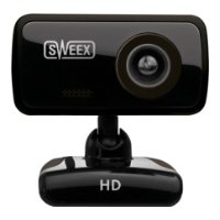 sweex hd webcam blackberry black usb