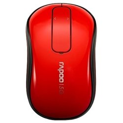 rapoo wireless touch mouse t120p red usb