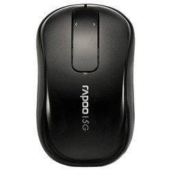 rapoo wireless touch mouse t120p black usb