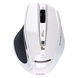e-blue fresco pro 2.4ghz wireless mouse ems107wh white usb
