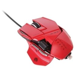 mad catz r.a.t.5 gaming mouse red usb (красный)