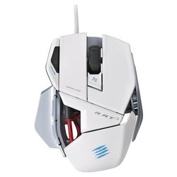 ���� mad catz r.a.t.3 2013 gloss white usb (�����)