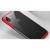 Чехол накладка для Apple iPhone XR (Baseus Glitter WIAPIPH61-DW09) (красный)