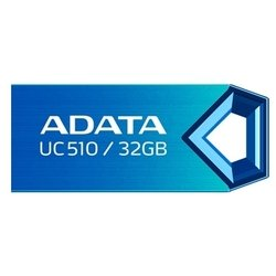 usb флеш диск adata dashdrive uc510 32gb (синий)