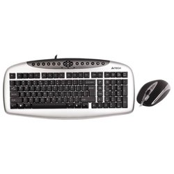 A4Tech KB-2103D Multimedia Desktop Black PS/2