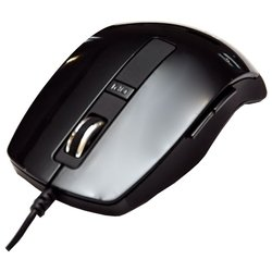 detech de-5088g 6d mouse black usb