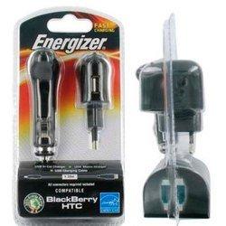 Сетевое и автомобильное зарядное устройство mniUSB, microUSB (Energizer LCHEC31UMABB2)