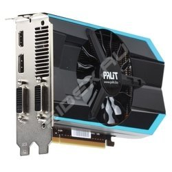 Видеокарта Palit GeForce GTX 660 NE5X66001049-1060F (980Mhz, PCI-E 3.0, 2048Mb, 6008Mhz, 192 bit, 2xDVI, HDMI, HDCP) BULK