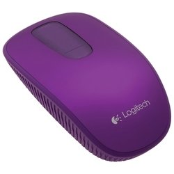 logitech zone touch mouse t400 violet usb (фиолетовый)