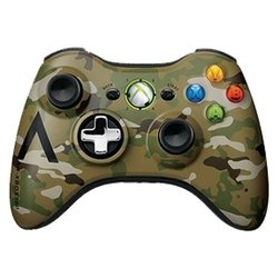 Microsoft Xbox 360 Wireless Controller in Camouflage