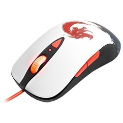 steelseries sensei raw guild wars 2 (62156) usb (бело-черный)